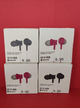 Auriculares Xiaomi Mi In-Ear Headphone Basic