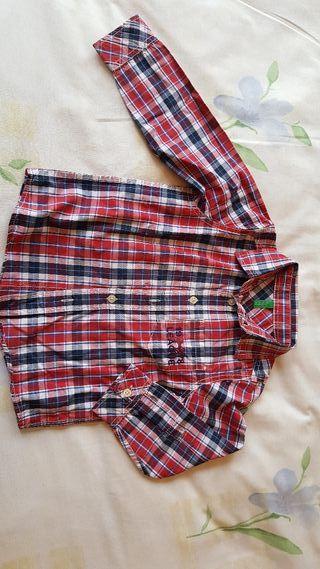 camisas niño Benetton 5 a 6 años