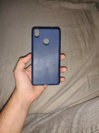 Funda silicona BQ Aquaris X y X Pro azul