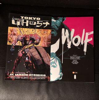 Tokyo Ghost & Wolf Comics