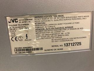 "TV 28"" marca JVC sin TDT."
