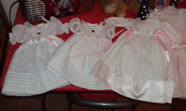 vestidos de comunión de muñeca Helen o María de fa