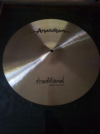 "crash 18"" Anatolian traditional"