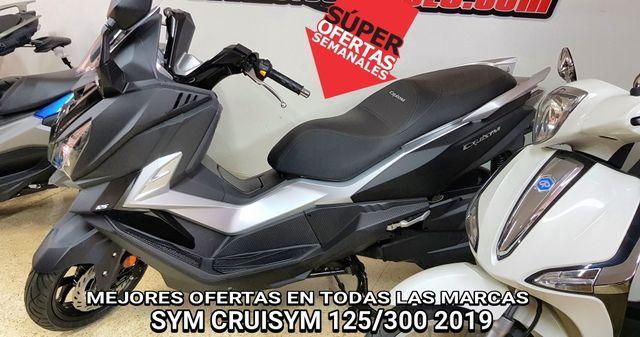 2020 SYM CRUISYM 125 /300 MOTOS NUEVAS OFERTAS