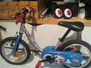 Bici niño pequeña