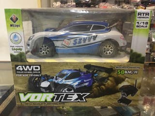 WLTOYS - COCHE RALLY 1/18 RTR 2,4GHZ VORTEX