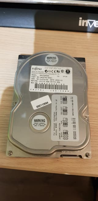 disco duro 3.5 fujitsu