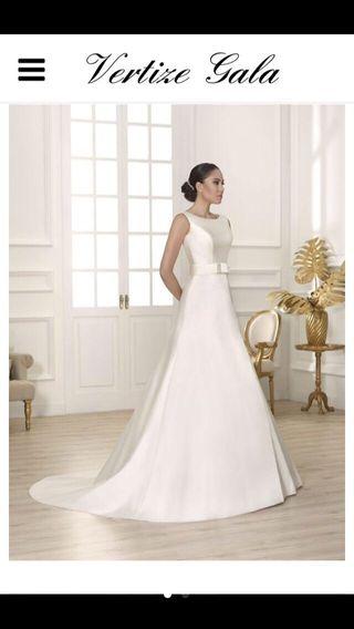 b8c230e30 Vestido de novia de segunda mano en Madrid en WALLAPOP
