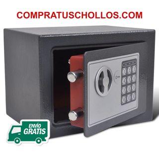 Caja Fuerte Digital y Electrónica (23x17x17 cm)