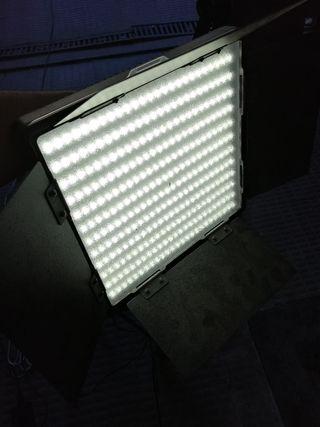 focos Led para fotografía y vídeo x2uds
