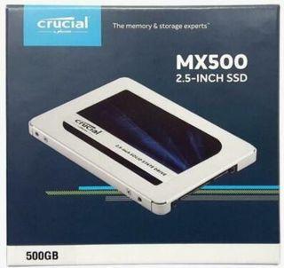 """Disco duro SSD 2.5"""" 500GB - Crucial MX500 (500 GB)"""