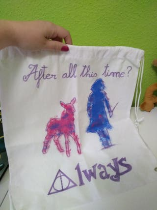 MOCHILA SACO HARRY POTTER Exclusiva