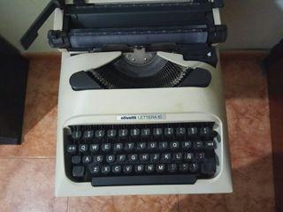 Máquina de escribir olivetti lettera 10 Portatil