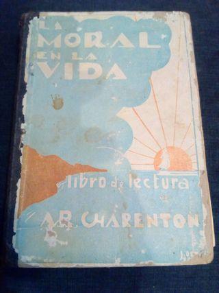 Libro antiguo de escuela
