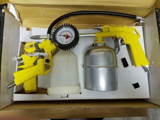 kit de compresor pintura Kivec