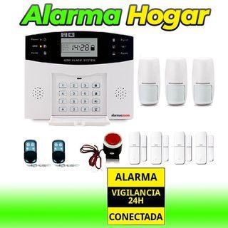 Kit alarma casa Detectores de movimiento y Apertur
