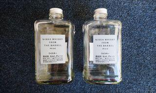 Botellas vacias (2 unidades)