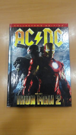 Libro + CDs AC/DC Iron Man 2 Collector's Edition
