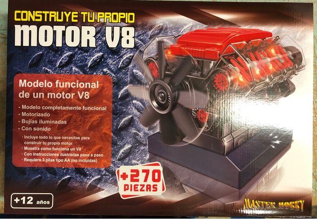 Motor V8 para construir