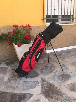 Palos de golf Confidence golf. Y guantes Nike