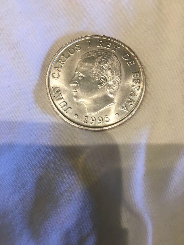 Moneda 2000 pesetas año 1995
