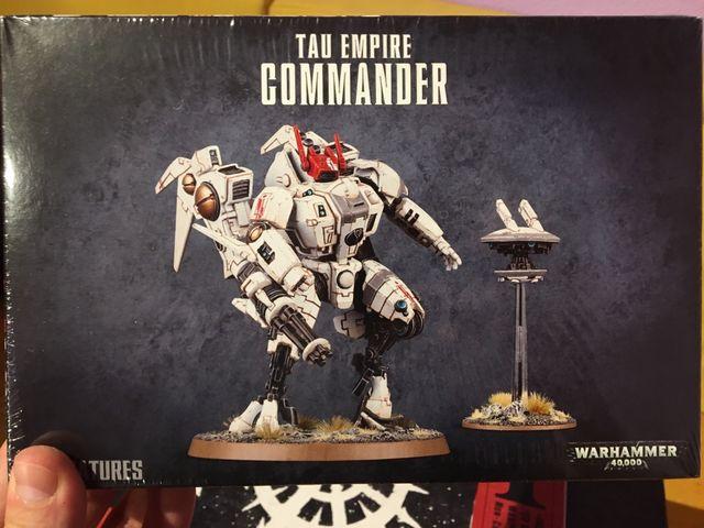 Comandante tau. Warhammer 40k