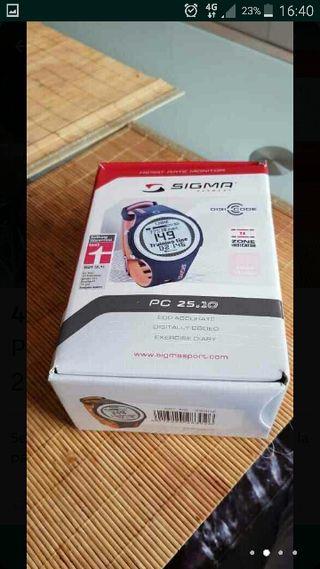 Pulsòmetro Sigma Pc 25.10 Gris - Amarillo