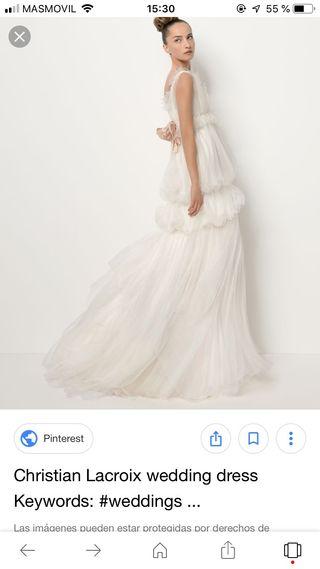 3cb8ac64d Vestido de novia Rosa Clara de segunda mano en Madrid en WALLAPOP