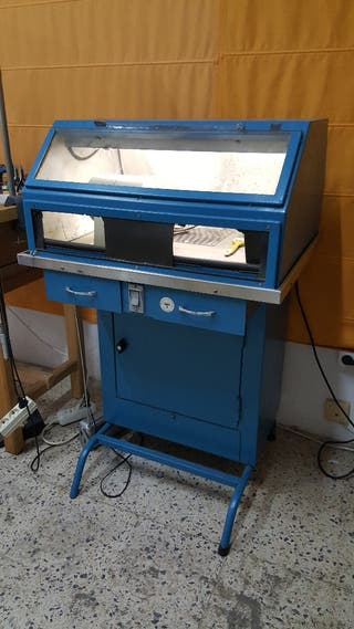 cabina para pulidora de joyeria con extractor