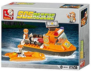 Sluban CONSTRUCCIÓN SET - rescate buque B0101