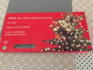 Serie de 100 luces de Navidad
