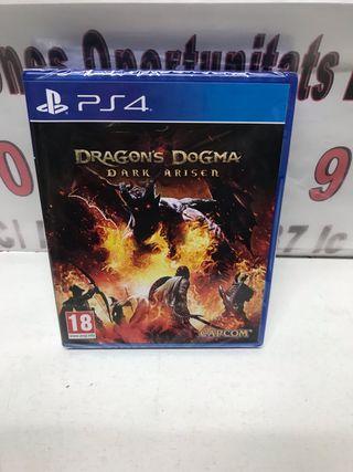 Juego ps4 dragón dogma nuevo