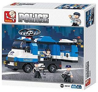 Unidad móvil de policía. SLUBAN B0187