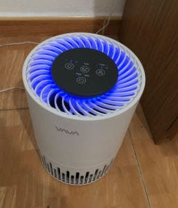 Purificador de Aire Filtro HEPA 3 en 1
