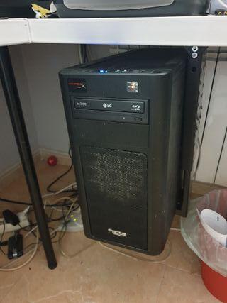 Ordenador AMD RYZEN + monitor