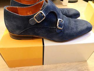 Zapatos azules hombre 41