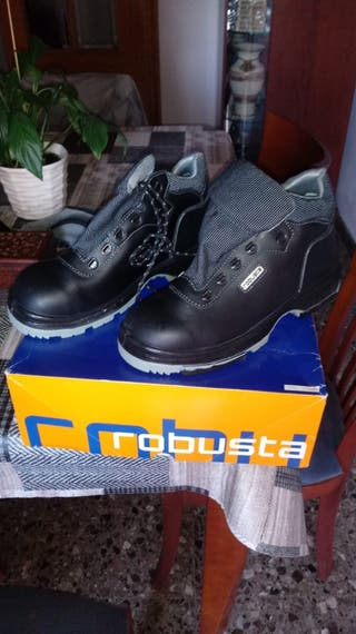 zapatos de seguridad robusta