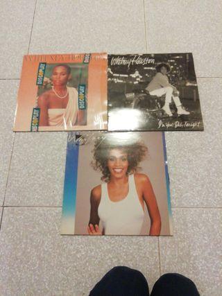 disco vinilo Whitney houston