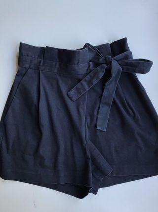 Pantalón/bermuda azul