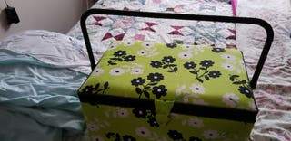 Used sewing kit