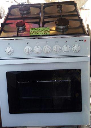 horno Fagor con encimera a gas butano