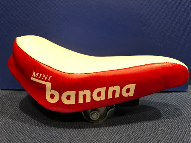 Sillín bicicleta Mini Banana rojo
