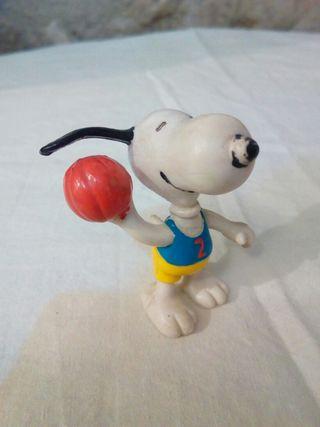 Figura de goma snoopy