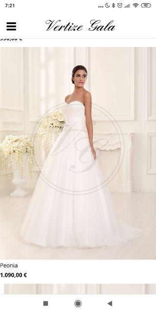 c7c87952df Falda de novia de tul de segunda mano en la provincia de Madrid en ...