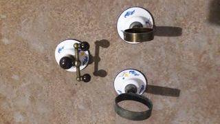Accesorios de baño de porcelana, antiguos