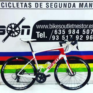 Bicicleta Giant defy advanced 1 disc