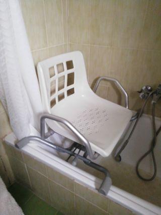Silla para bañera adaptable..