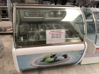 Vitrina expositor helados