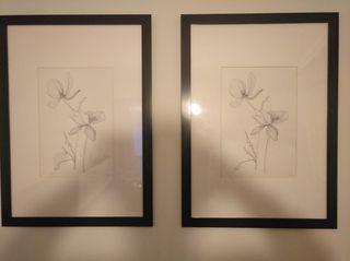 Cuadro ikea fajallsta Marco con Lámina 108x78cm