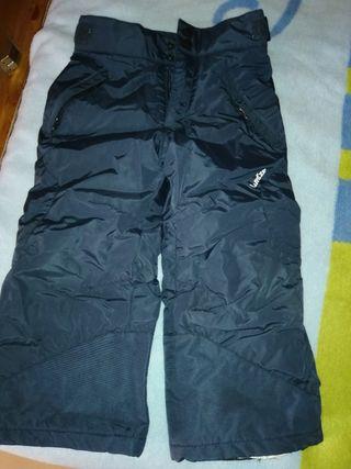 pantalón esquiar talla 4 años